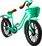 Bicycle city. Vector Illustration Stock Image
