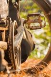 Bicycle close-up Royalty Free Stock Photos