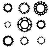 Bicycle cogs Royalty Free Stock Photography