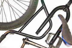Bicycle components Royalty Free Stock Photos