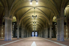 Bicycle Corridor Under The Rijksmuseum Royalty Free Stock Images
