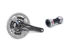Bicycle crank Stock Photography