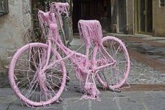 Bicycle decoration Stock Photos