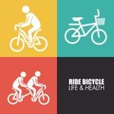 Bicycle design Royalty Free Stock Photos