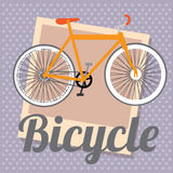 Bicycle design Royalty Free Stock Images