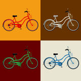 Bicycle design Stock Images