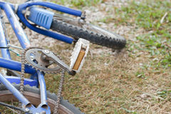 Bicycle detail close up. Royalty Free Stock Photography