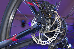 Bicycle Disc  Brake Royalty Free Stock Photos