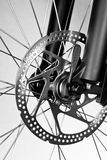 Bicycle disk brake Stock Photo