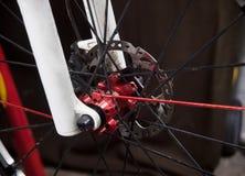 Bicycle disk brake Royalty Free Stock Image