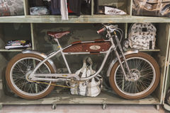 Bicycle on display at EICMA 2014 in Milan, Italy Stock Photography