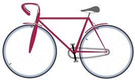 Free Bicycle Drawing Stock Images - 10746804