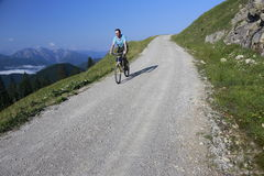 Bicycle drive Royalty Free Stock Images