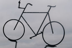 bicycle duży Zdjęcie Stock