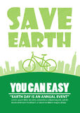 Bicycle Earth Day,Print A4 Stock Photos