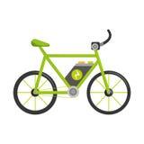 Bicycle ecology vehicle isolated icon Royalty Free Stock Photo