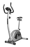 Bicycle exercise machine Royalty Free Stock Photo