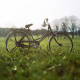 Bicycle in field Royalty Free Stock Photos