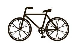 Bicycle flat icon Stock Photography