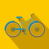 Bicycle flat icon Royalty Free Stock Images
