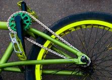 Bicycle fragment Stock Image