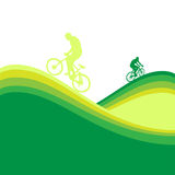 Bicycle frame Stock Image