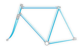 Bicycle frame Royalty Free Stock Image