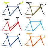 Bicycle Frame. Vector Illustation Stock Images