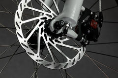 Free Bicycle Front Wheel With Disk Brake Stock Photos - 84787903