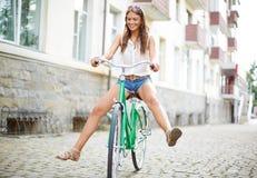Bicycle fun Stock Photography