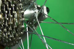 Bicycle gear Stock Photo