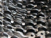 Bicycle gear abstract Stock Image