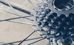 Bicycle gear cassette Stock Images