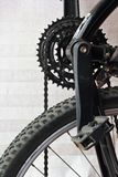 Bicycle gear and chains Stock Photography