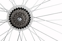 Bicycle gear set Royalty Free Stock Images