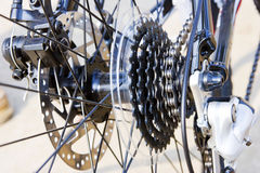 Bicycle gears Royalty Free Stock Images