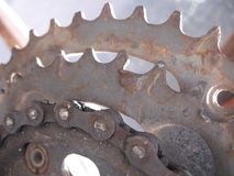 Bicycle gears Royalty Free Stock Photography