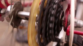 Bicycle Gears stock video