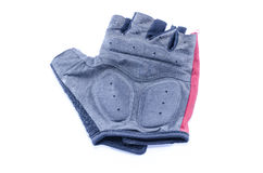 Bicycle gloves Royalty Free Stock Photography