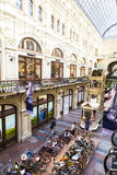 Bicycle in GUM department store in Moscow, Russia Stock Photos