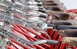 Bicycle handle bar Royalty Free Stock Photos