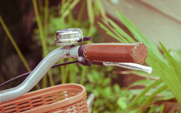 Bicycle handle bar Royalty Free Stock Photo