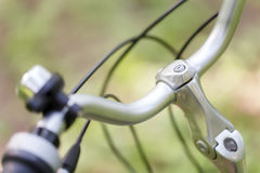 Bicycle handlebar Royalty Free Stock Photography