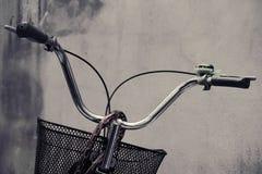 Bicycle handlebar with brake. Royalty Free Stock Photography