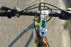Bicycle handlebar detail stock video footage