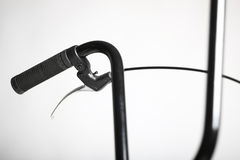 Bicycle handlebar Royalty Free Stock Images