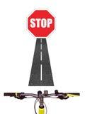 Bicycle Handlebars Royalty Free Stock Photo