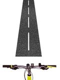 Bicycle Handlebars Royalty Free Stock Image