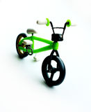 Bicycle handmade from polymer clay Stock Photography
