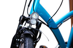 Bicycle headlight Royalty Free Stock Photography